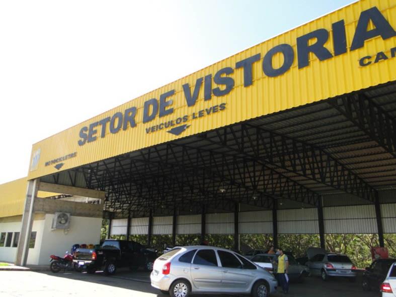 Detran estima realizar 1 mil vistorias em mutirão na Arena Pantanal