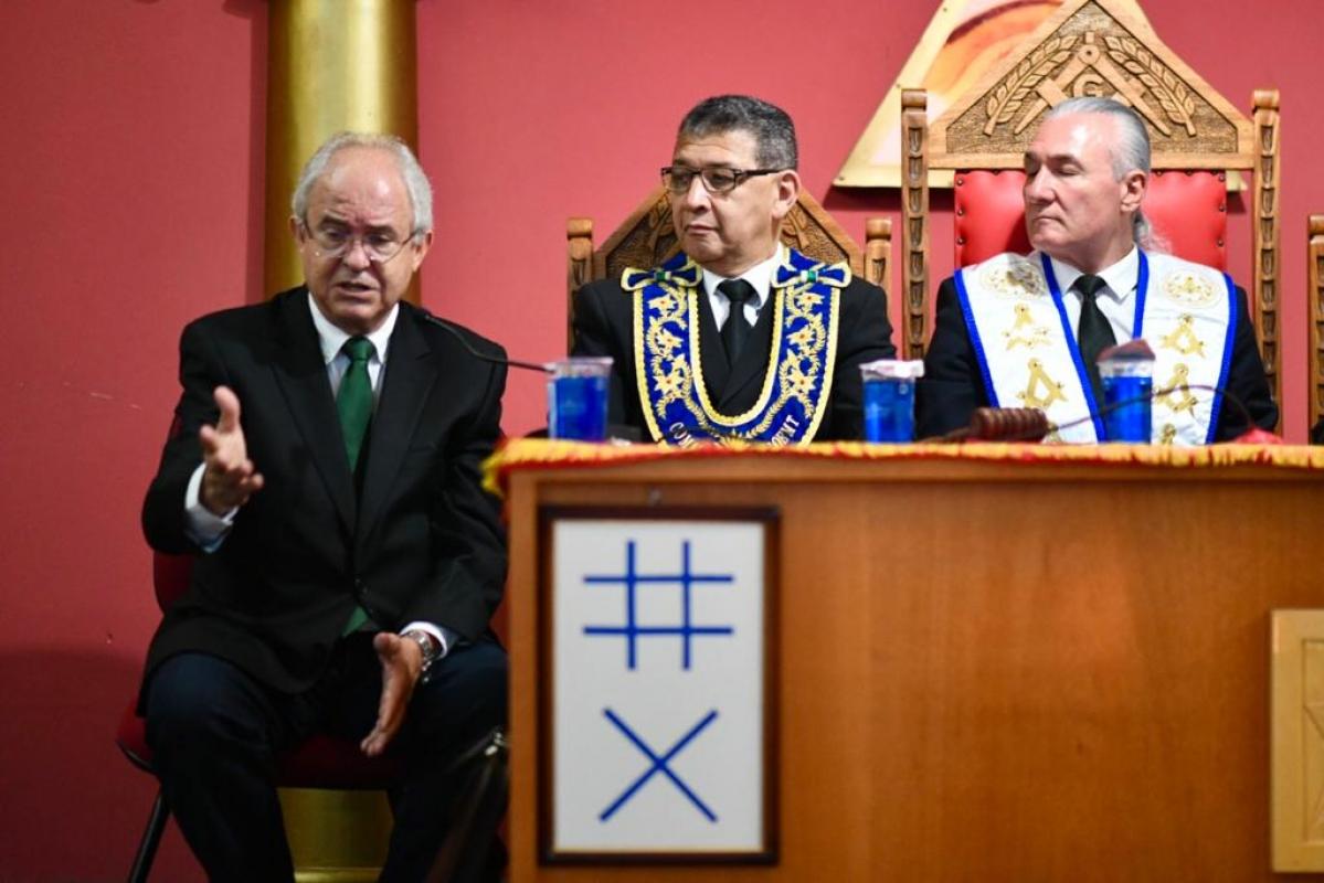 Em reunião com Sachetti e senador, maçonaria cobra conclusão de obras inacabadas