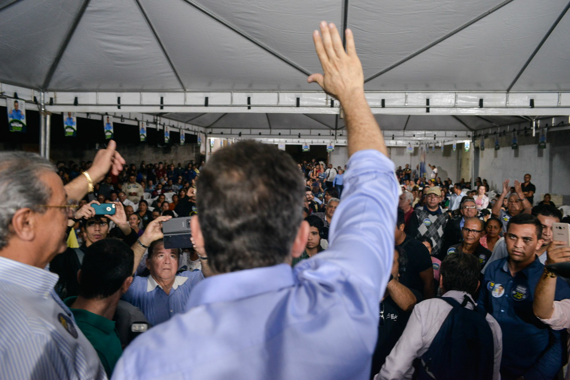Na corrida ao Governo, Mendes arregimenta mais um prefeito do PSDB de Taques