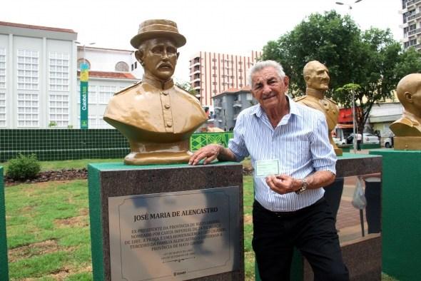 Exposição do artista Fred Fogaça é destaque na Praça Alencastro