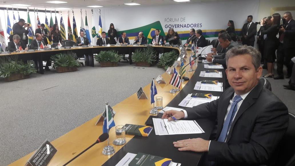 Em Fórum de Governadores, Mendes cobra medidas de Moro contra a criminalidade