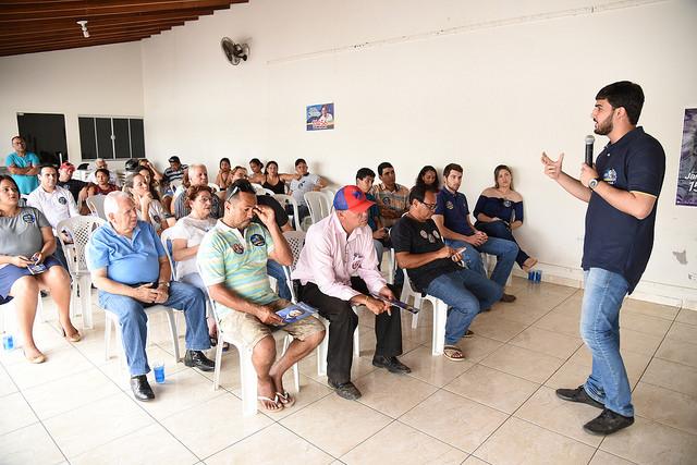 Propostas à educação marcam programação ao interior de Emanuelzinho