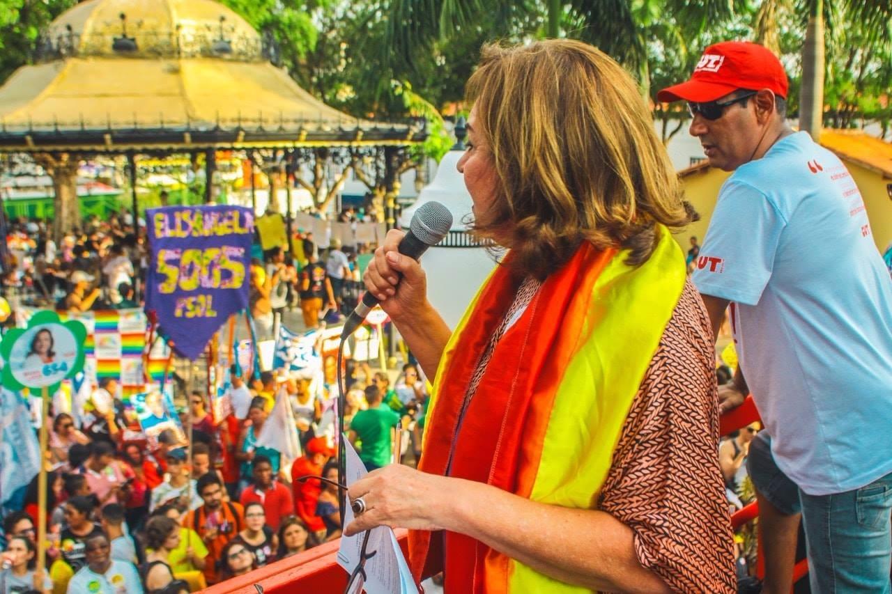 Maria Lúcia promete lutar no Senado pela criminalização da Homofobia