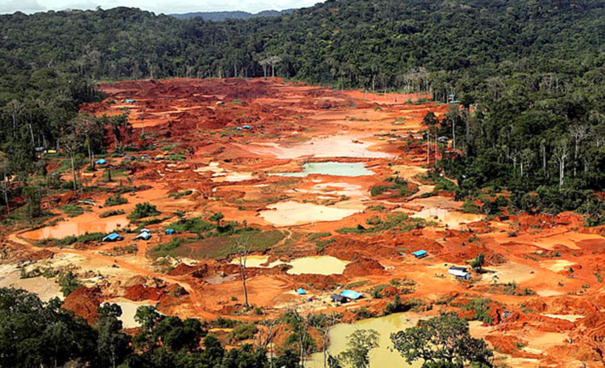 Garimpo ilegal destrói área em Matupá e MP exige providências