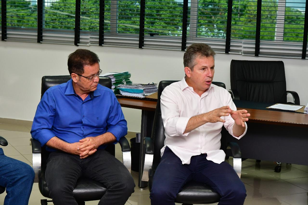 """""""Vou pedir, vou solicitar, não vou brigar com ninguém"""", diz Mauro sobre orçamento dos Poderes"""
